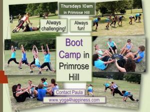 Boot Camp in Primrose Hill 2015-03
