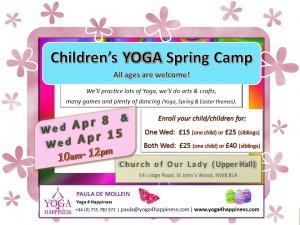 Yoga Spring Camp 2015