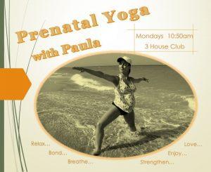 Prenatal Yoga 3 House club